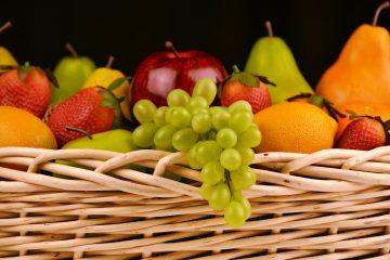 Bild eines Fruchtkorbes